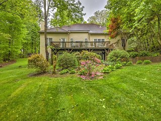 Sherrills Ford Home w/ Patio & Dock on Lake Norman