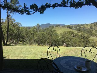 Elsewhere Retreat - 40 acres of privacy, peace & serenity in Megalong Valley