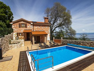 Villa MIlena-An oasis of peace and relaxation in small Istrian village