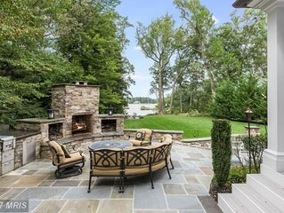 LUXURY Waterfront w/EVERY amenity *4mi to Navy Stadium* house or rooms available