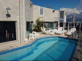 Flat - 1 dormitorio | Bairro: Gonzaga, Santos -SP.