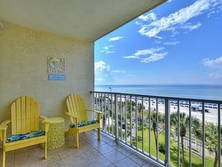 New! Vacation fun *the beach in this oceanfront condo! 2 pools, game room, WiFi!