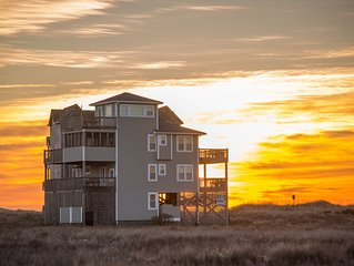 Gone Coastal - Spotless 4 Bedroom Semi-Oceanfront Home in Rodanthe