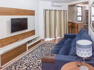 Apartamento Copacabana familiar  dentro de hotel 4 estrelas
