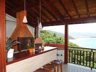 Casa com a melhor vista de Ubatuba