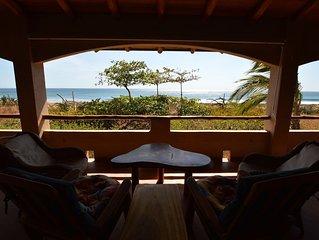 Authentic Costa Rica Beachfront 3BR - Casa JolRay