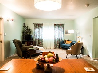 Bakers Mezzanine is a second floor apartment located in the heart of Newberg, OR