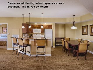 2 Bdrm Deluxe condo at Resort in Bonnet Creek-Please email owner first