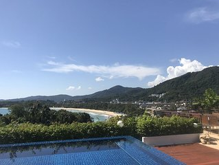 Kata Beach 3 Bedroom, Ocean View, Private Pool, Walk To Beach !