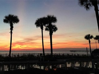 3 Bedroom, 2 Bath Gulf Front Penthouse