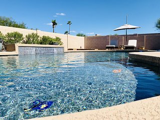 Rustic Scottsdale Home with Huge Patio and Luxury Heated Pool!