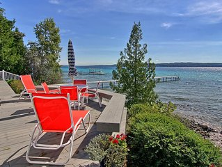 Luxury Three Bedroom Home On Beautiful, Blue Crystal Lake Waterfront