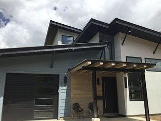 New modern mountain luxury home on OHV approved road and incredible views