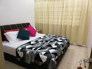 Cozy House can sleep upto 8 pax