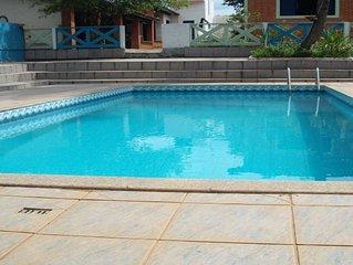 Chacara na Serra do Japi c/ WIFI,  piscina e espaço gourmet com churrasqueira!