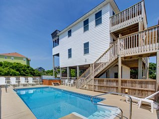 Out of the Blue - Impressive 4 Bedroom Oceanside Home in Rodanthe