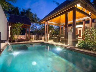 Paradise at Niramaya Villa 14       Private & Tropical Sanctuary