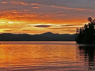 Adirondack Camp On 1  Acre, Sitting Dock, 245 Feet Of Direct Lake George Shore