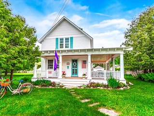 Magical Harbor Spring! Hands Down the BEST Location For Rent in Harbor Springs!