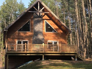 Recently built luxury cabin in Lake Placid region minutes away from Whiteface.