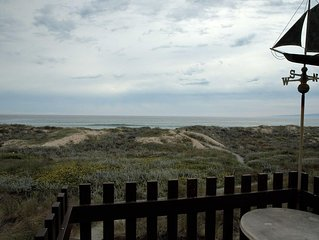 Monterey Dunes Beachfront no shoes needed to play in the sand...Book now without