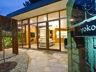 Yoko Villa an award winning accommodation situated in Stirling, Adelaide Hills.