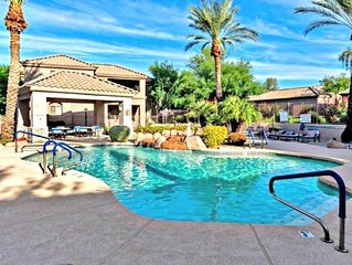 Excellent Scottsdale Location. Quiet Gated Community W/ Pool Spa & Fitness ctr