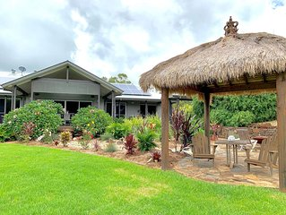 Welcome to 'Matilda's' a modern house set on 5 lush acres in Byron Hinterland.