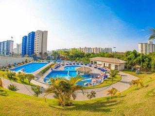Flat no Hotel Golden Dolphin Caldas Novas - Goiás