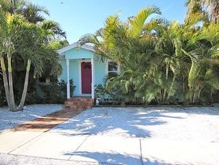 Tropical Beach Bungalow in St. Pete Beach
