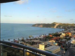 Apartamento com vista para o mar e Morro do Careca