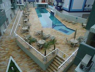 Local exclusivo, nobre,  saunas, piscinas norm. e aquec., fitness
