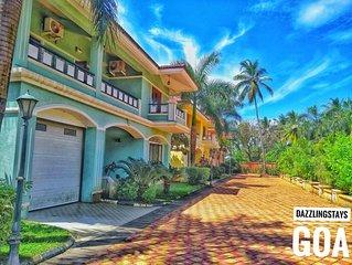 Classy 4 BHK Villa in Majorda Goa