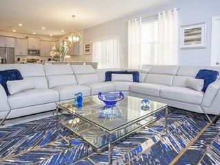Near Disney World - Champions Gate Resort - Welcome To Cozy 6 Beds 5.5 Baths Vil