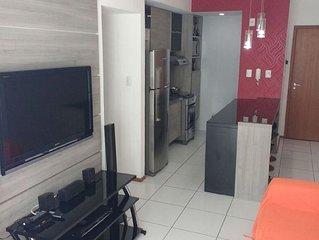 Excelente apartamento perto da praia de Boa Viagem, Recife