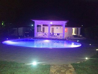 renovated House with pool in towncenter and close to the beach {sleeps 4}