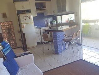 Village Duplex, Praia Flamengo, frente mar, 2 quartos, 2 salas, 2 varandas