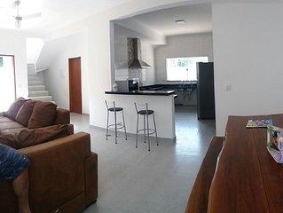 Maravilhosa casa ubatuba 500 metros da praia com 4 quartos 3 suites