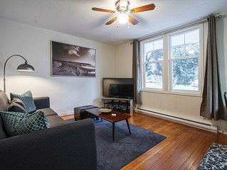 Fully Furnished,1bed,1bath,parking,wifi,Close2DT