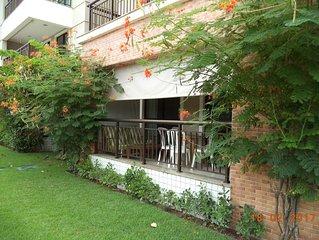 Apartamento mobiliado  para locação por  temporada no Porto das Dunas.