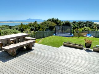 Large Cliff top family friendly home