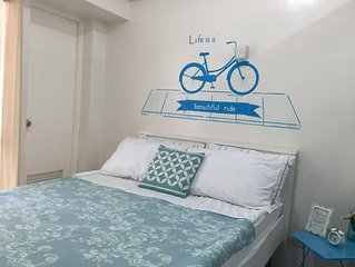 1BR Bike-Themed Apartment w Pool & WiFi