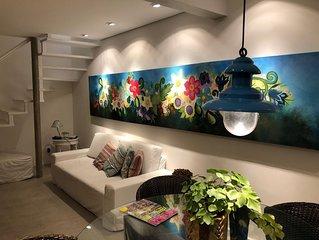 Casa linda de condominio na avenida da praia-d17