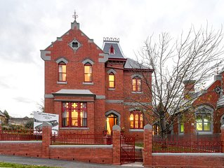 The Residence of MacKenzie Quarters, a grand home in the heart of Bendigo.