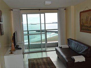 Apartamento de alto padrão com vista para o mar de qualquer ambiente
