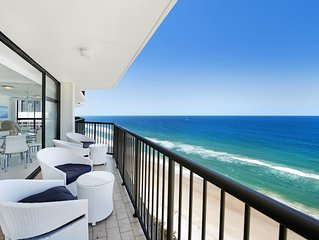 SPECIAL  RATE ABSOLUTE BEACHFRONT DELUXE AMAZING VIEWS SPACIOUS UNIT