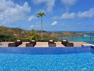 Amazing Views of the Caribbean Sea and Atlantic Ocean, Heated Swimming Pool and