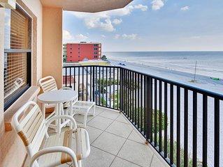 Emerald Isle #401- Beautiful updates! Beach front/Amazing view from balcony!