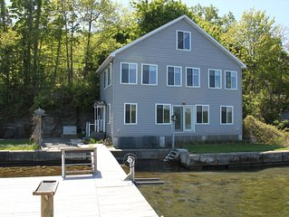 Four Bedroom Home Right on Seneca Lake