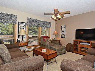 Four Big Bears- 4 bedroom condo close to all village amenities. Sleeps 12.